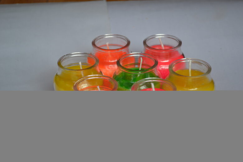The candle making class